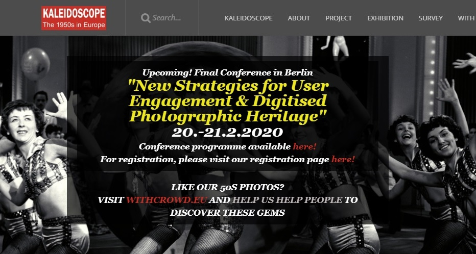 New strategies for user engagement and digitised photographic heritage