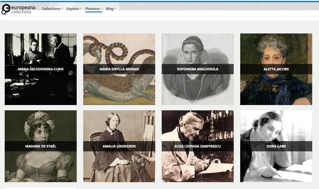 Europeana celebrates Women in Science day