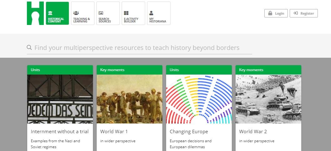 Discover Historiana