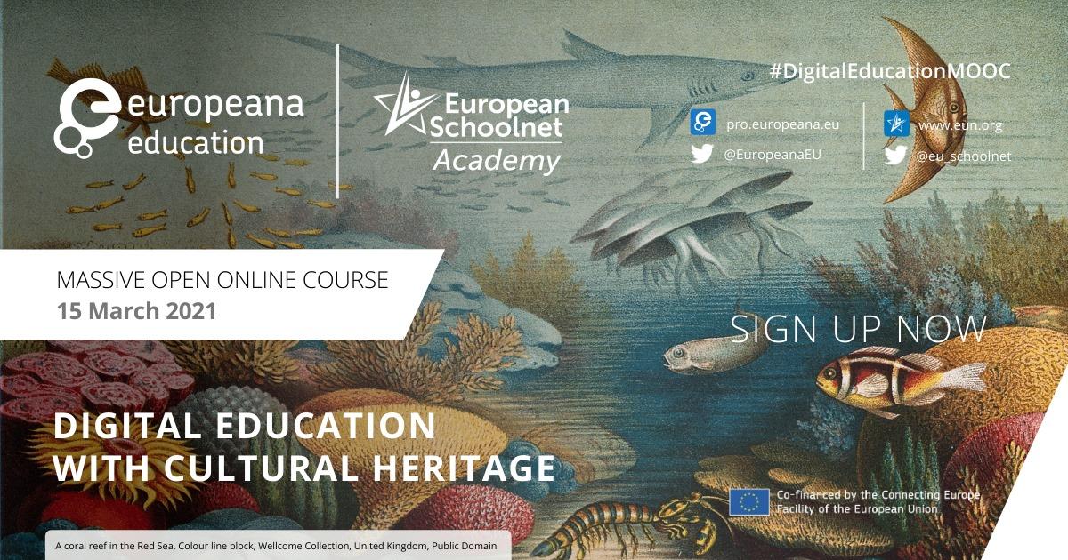 Digital education with cultural heritage – Europeana MOOC 2021