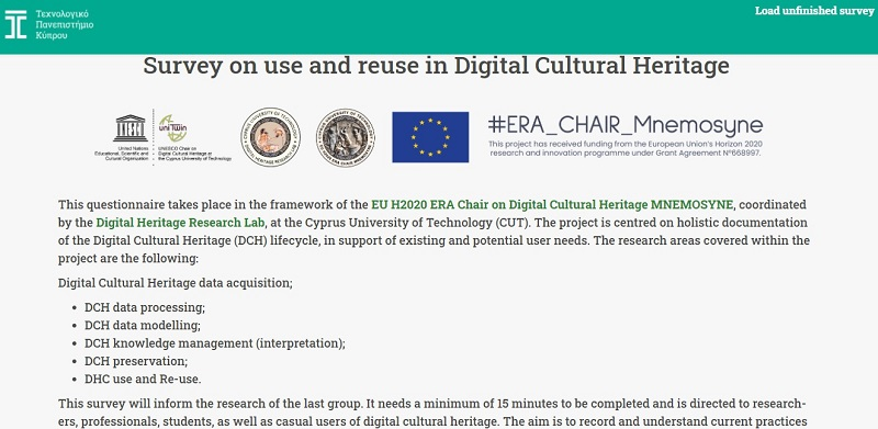 Survey on use and reuse in Digital Cultural Heritage