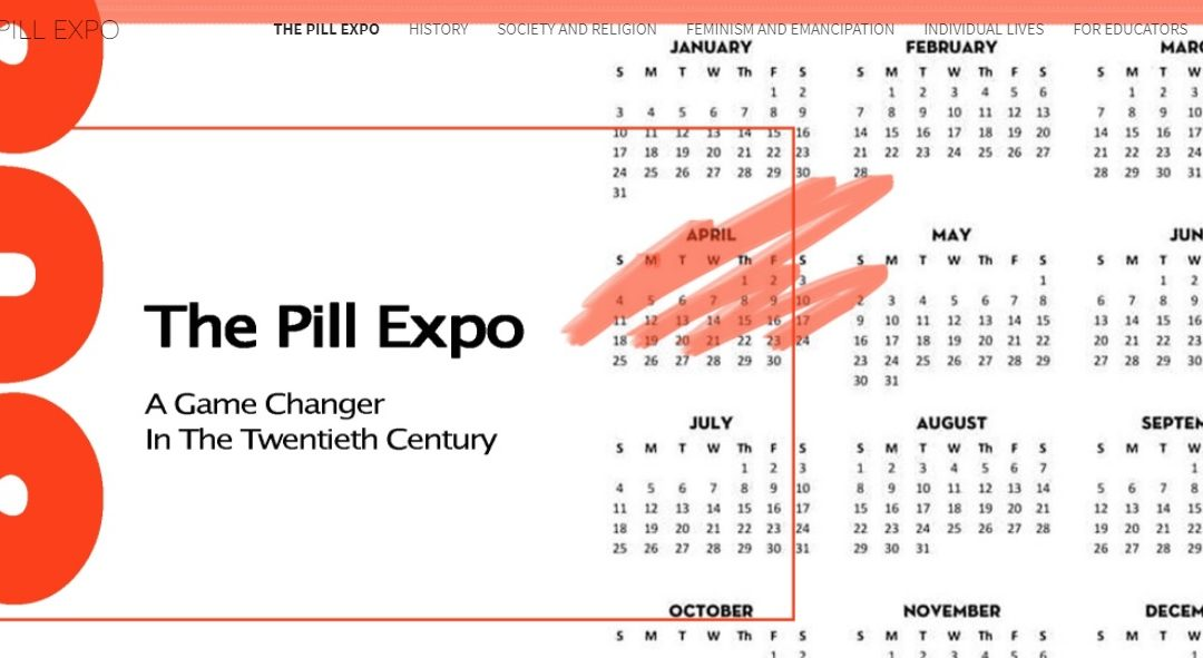The Pill Expo: Contraceptive Pill as a 20th Century Game-Changer