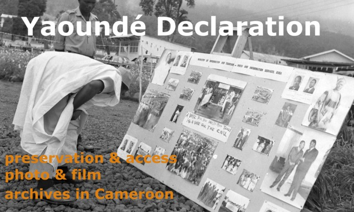 Yaoundé Declaration for the preservation of and access to photo and film archives in Cameroon