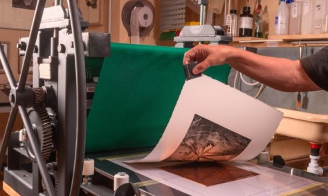 """A Hybrid Approach to Photogravure on Copperplate"", blog by expert photographer and photography teacher Carles Mitjà"