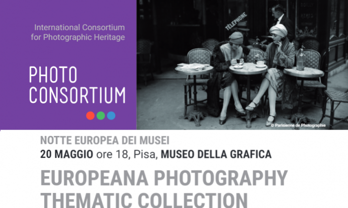 Europeana Photography Thematic Collection – Launch event in Pisa, 20th May 2017