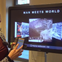 Man Meets World, virtual interactive exhibition where vintage photography joins digital technologies