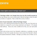 Survey about Europeana (10 minutes): tell us what you think!