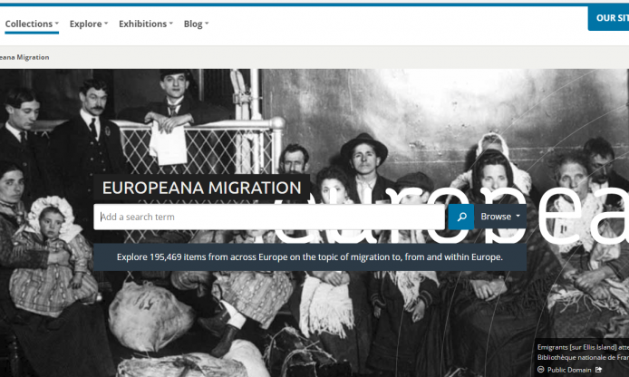 Europeana Migration, to show that culture is the product of multicultural influences down the centuries