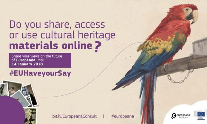 Developing Europe's Digital Platform for cultural heritage: public consultation on Europeana opens