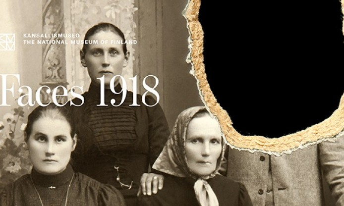 new exhibition at the National Museum of Finland: Faces 1918