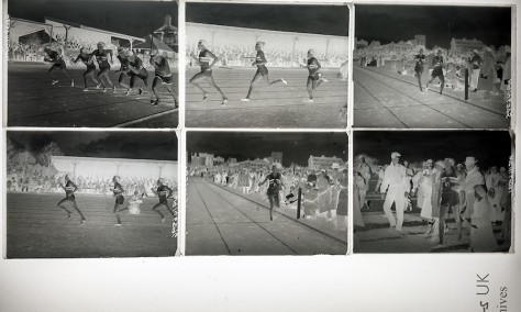Re-discovering a piece of history: Roger Bannister negs