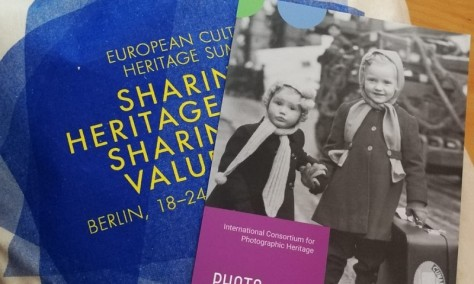 """Photoconsortium at """"Sharing Heritage – Sharing Values"""" the European Cultural Heritage summit"""