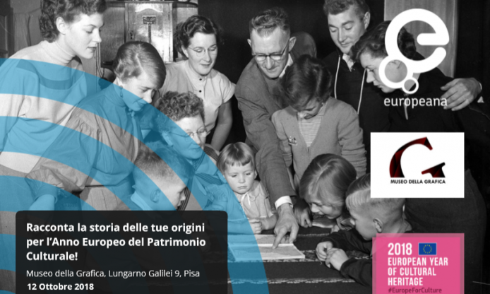 Europeana Migration event – Pisa, 12 October 2018