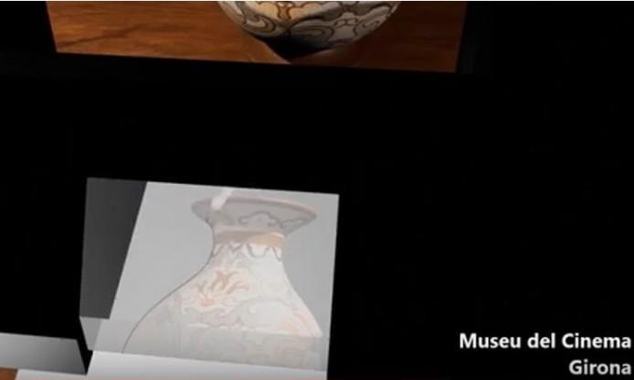 Audiovisual about Camera Lucida from Museu del Cinema Girona