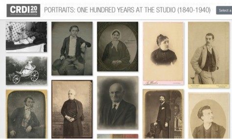 Portraits: one hundred years at the studio (1840-1940)