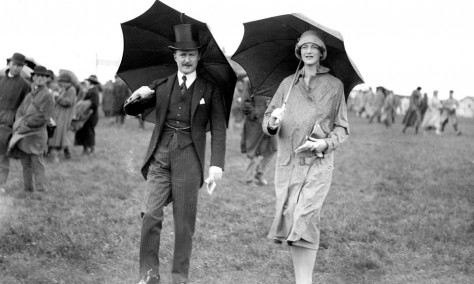'A Day at the Races' second part: The English fashion