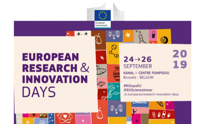 European Research & Innovation Days, 24-26 September 2019 in Brussels