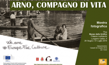 Arno, Compagno di Vita – exhibition in Pisa, 28 June 2019