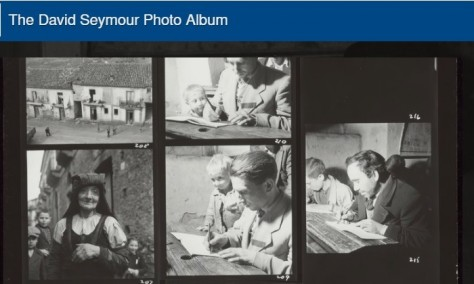 Photoreportage about the Italian campaign against illiteracy in 1950s