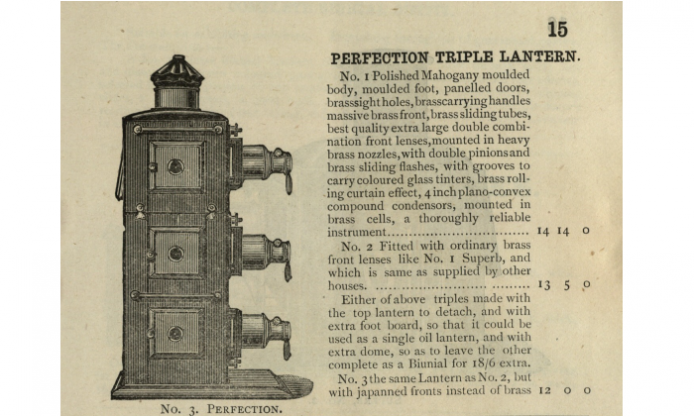 The magic lantern – vintage book available online