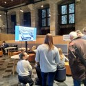 Blue Skies.. in Leuven: interactive version of the exhibition was presented at the Day of Science