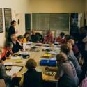 Kaleidoscope workshop on family photography, in Girona