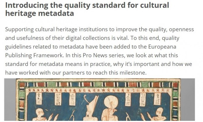How to make the most of visibility for your collections in Europeana