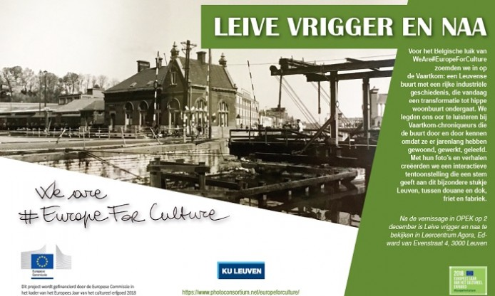 Leive vrigger en naa – exhibition in Leuven, 2 December 2019