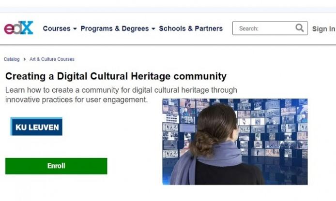 MOOC: Creating a Digital Cultural Heritage community