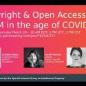 Webinar on Copyright & Open Access for GLAMs