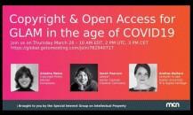 Webinar on Copyright & Open Access for GLAMs