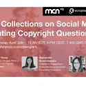 Second webinar about GLAMs and copyright – 30/4 h. 16 CET
