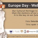 Special Webinar on Digital Cultural Heritage, 9th May 2020, 14:00-16:00 CET