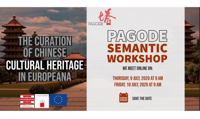 PAGODE Semantic Workshop, on line event 9-10 July