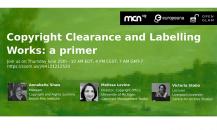 Copyright clearance webinar – 25/6 h. 16 CEST