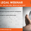 CEPIC legal webinar, 10th September 2020