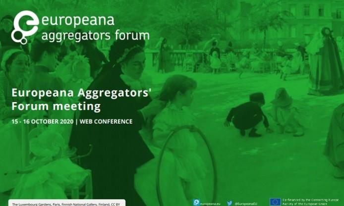 Europeana Aggregators Forum online 15-16 October 2020