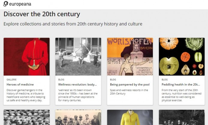 Milestone achieved: thematic collection about the 20th Century published in Europeana!