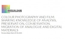 Colour Photography and Film: conference on the state of the art of contemporary photography