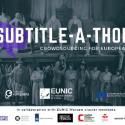 Launching Europeana XX Subtitle-a-thons!