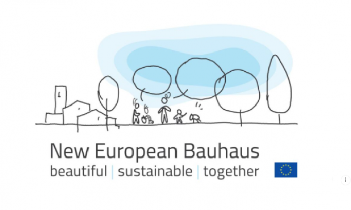 Europeana cafe on the New European Bauhaus